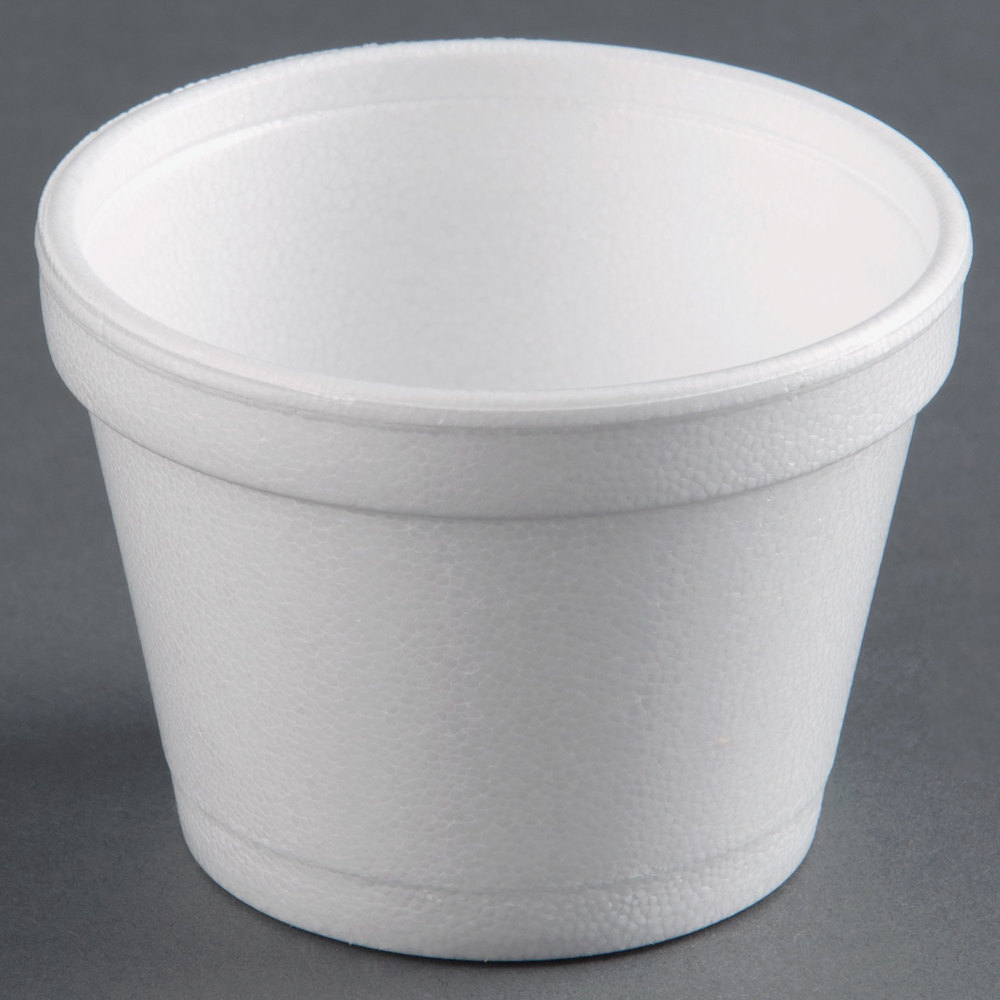 12sj20 Dart 12oz Foam Squat Cup Emerald Coast Supply