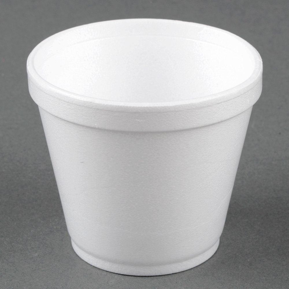 8sj12 Dart 8oz Foam Squat Cup Emerald Coast Supply